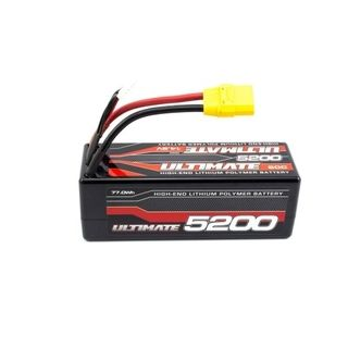 ULTIMATE 14.8V. 5200 60C LIPO BATTERY STICK PACK XT90