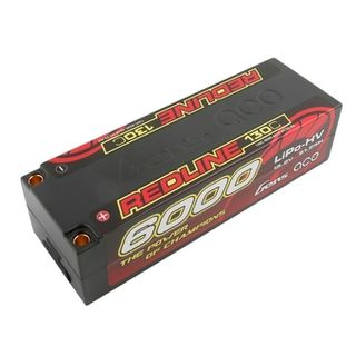 Gens Ace Redline 6000mAh 4S HV 15.2v 130C Low Profile Hard Case