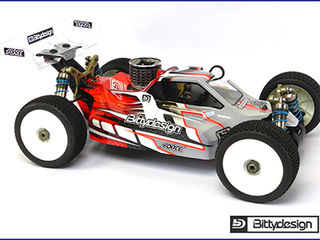 Kyosho MP9 TKI4 body