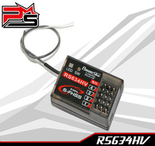 Powerstar FUTABA S-FHSS compatible receiver