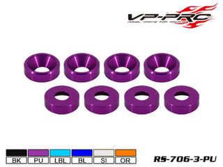 VP Pro M3 Countersunk Purple Washer