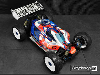 VISION Body for Team Associated RC8B3.1 / B3.2 Precut