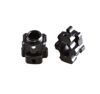 THE JQRacing Lightweight +1mm Hex & Nuts (2pcs)