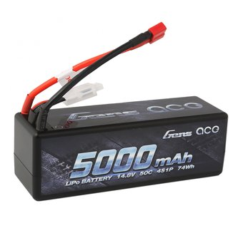 Gens ace 5000mAh 14.8v 50C with Deans