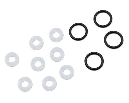 X-Ring Seals (8), Lower Cap Seals (4): All 8IGHT