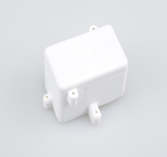 2013 White Rear Radio Box (BE, WE) by JQRacing
