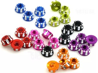 Thunder Innovations 1/10th M4 Serrated Wheel Nuts