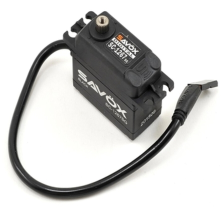 Savox SC-1267SG Black Edition High Torque Steel Gear Servo (High Voltage)
