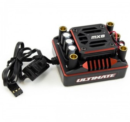 ULTIMATE MX8 RACE BRUSHLESS ESC (220A/2-6S)