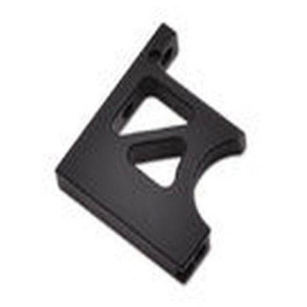BLACK eCar Centre Diff Mount Top Front by JQRacing