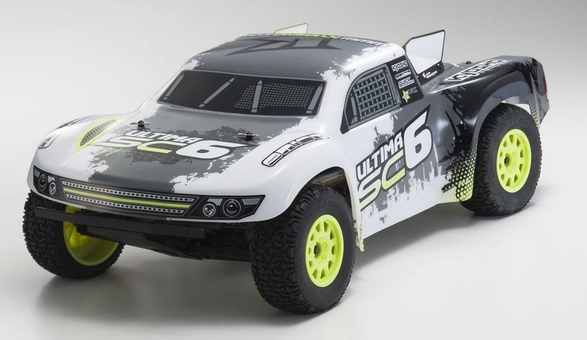 KYOSHO ULTIMA SC6 1/10 BRUSHLESS 2WD SHORT CORSE TRUCK READYSET